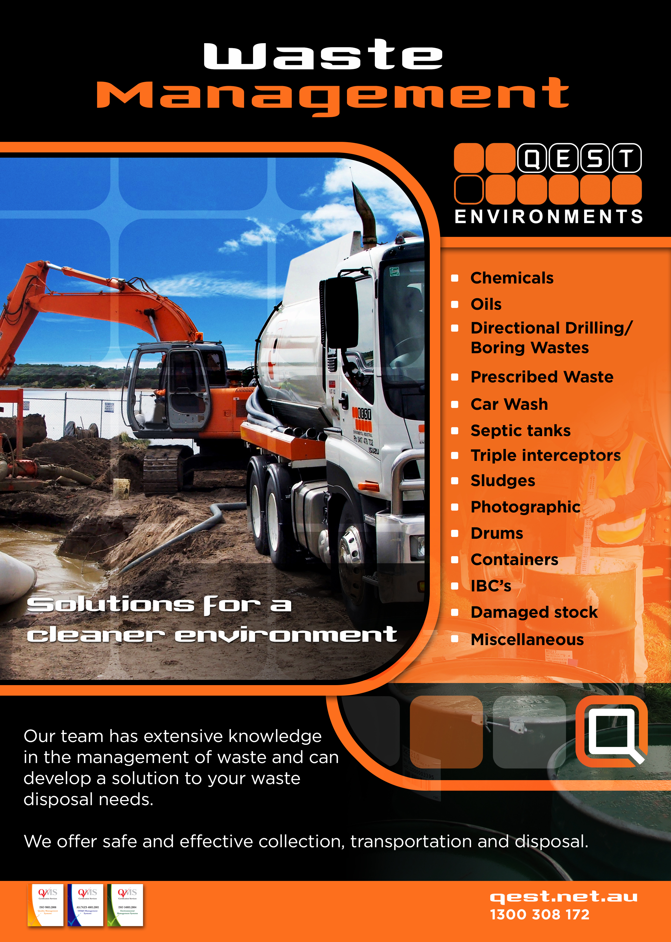 Cleaning of industrial waste - available to all 97
